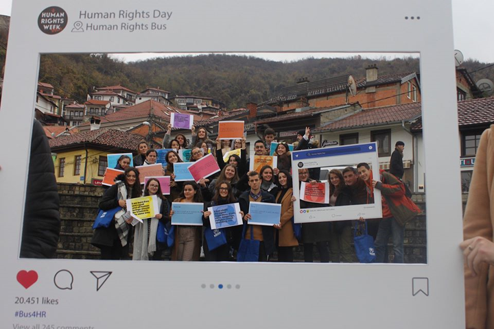 Bus of Human Rights – Human Rights Day