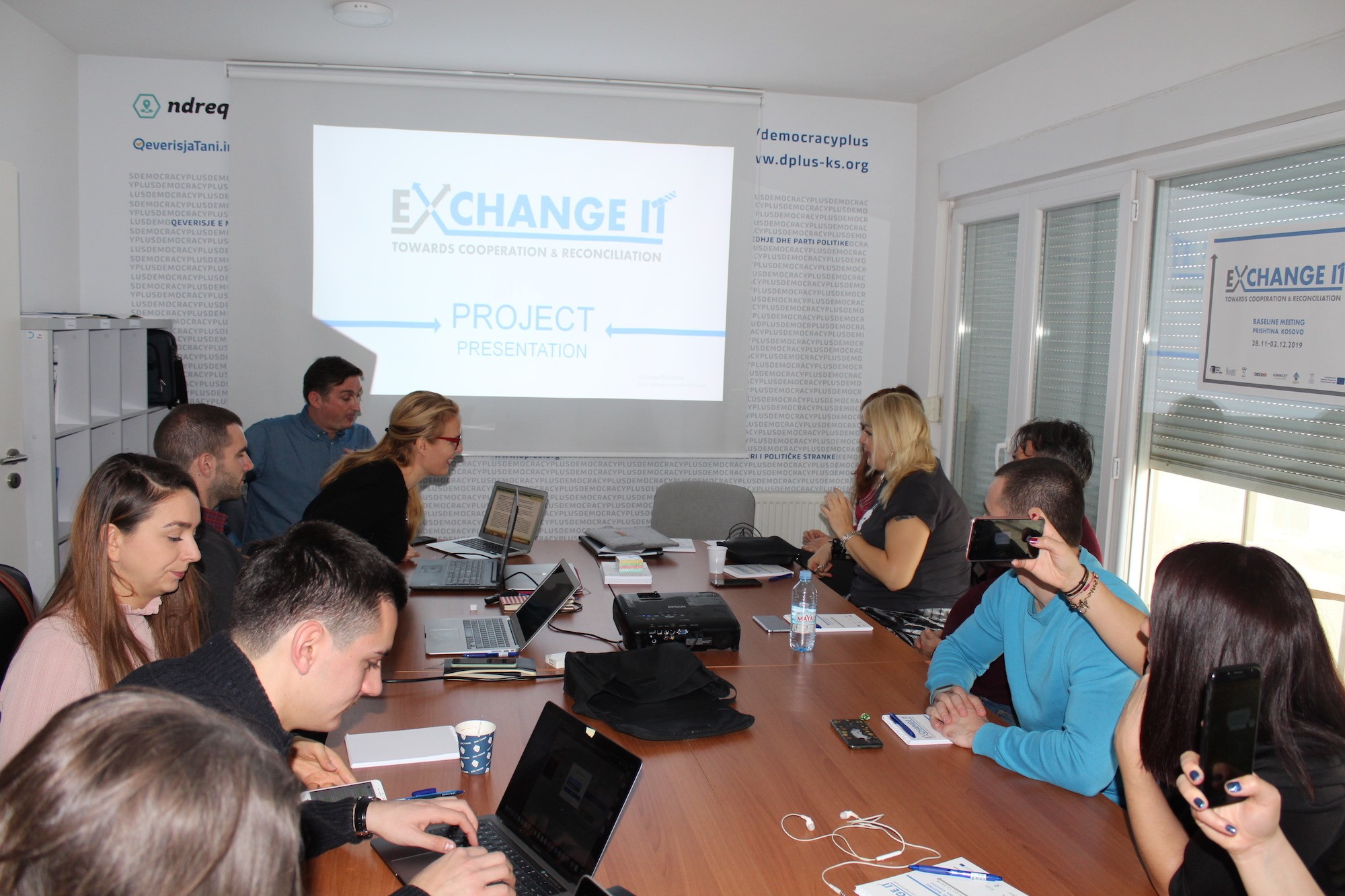 "We have started ""Exchange it – towards cooperation and reconciliation"""