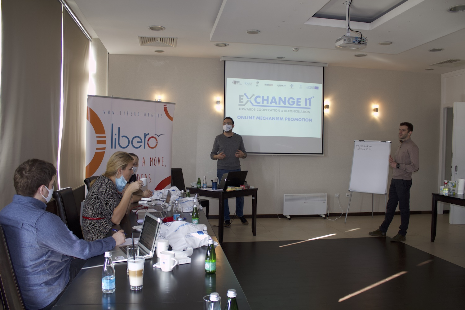 Promotion of Exchange It Mechanism implemented by partner organizations