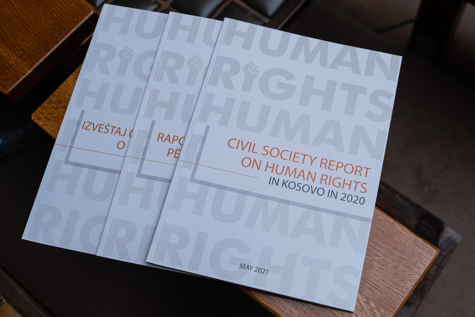 LAUNCH OF THE SECOND JOINT CIVIL SOCIETY REPORT ON HUMAN RIGHTS IN KOSOVO IN 2020